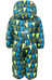 Color Kids Rimah Mini Padded Coverall AOP Deep ocean